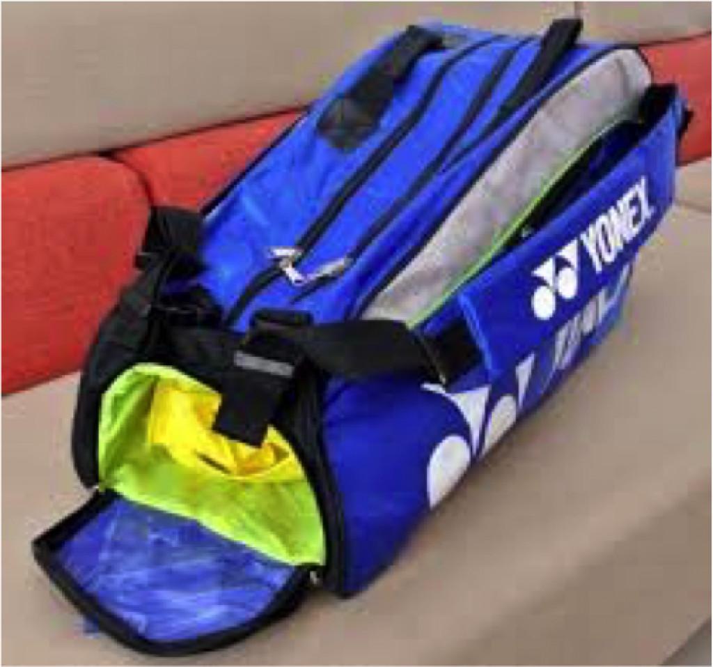 badmintontaske til transport